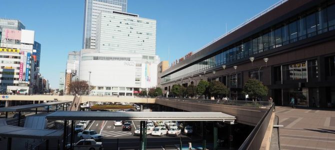 仙台駅の全景写真