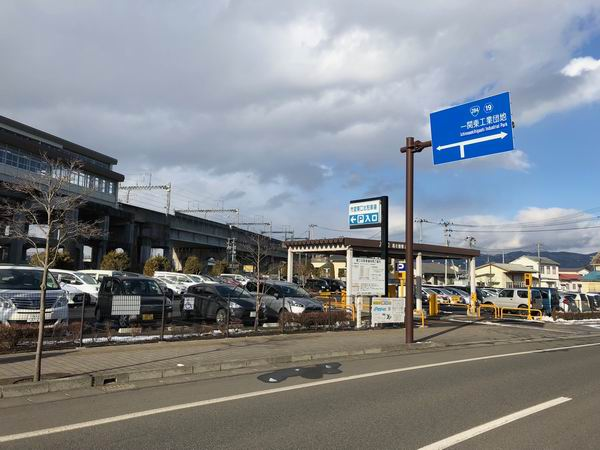 一ノ関駅東口北駐車場