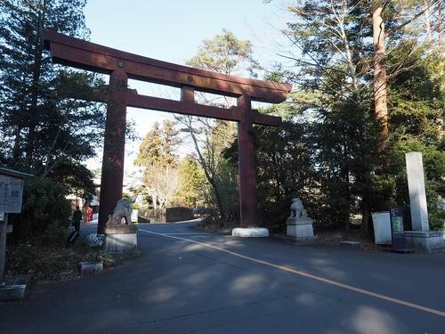 青葉城の正門