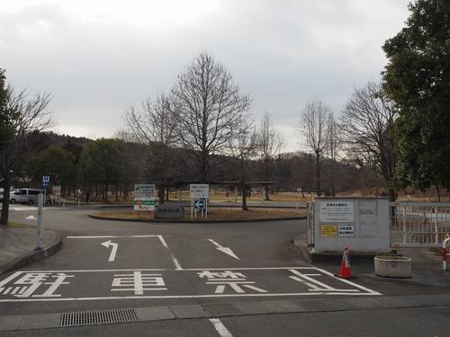 利府加瀬沼公園の出入り口1