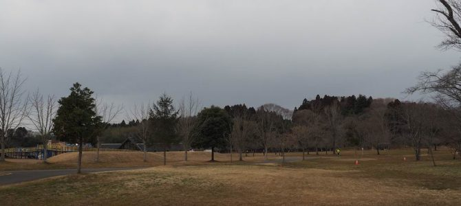 利府加瀬沼公園の風景
