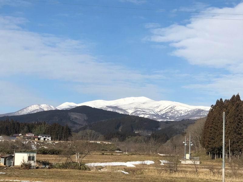 栗駒山をアイフォンXで撮ってみた写真