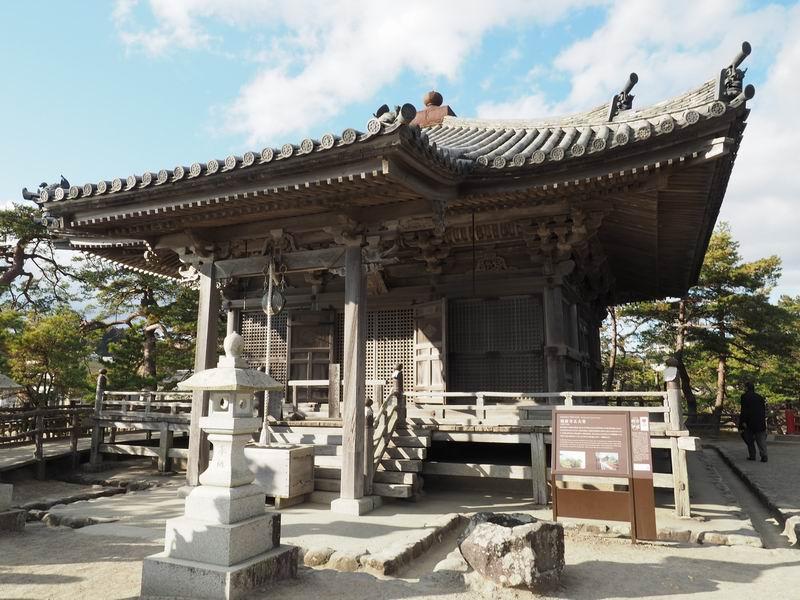 松島五大堂の全景風景写真