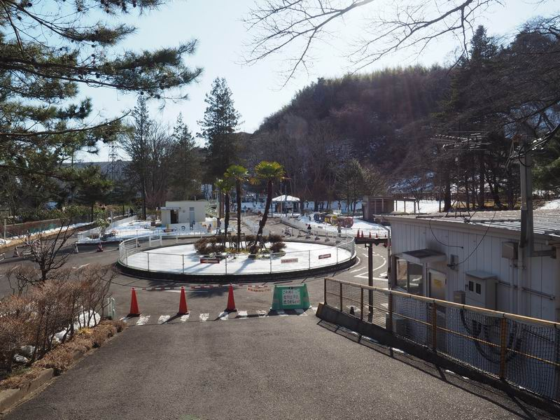 山居沢交通公園の風景