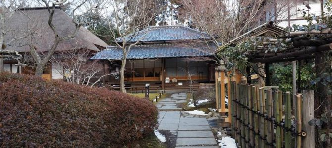 円通院の冬の景色と雪の景色