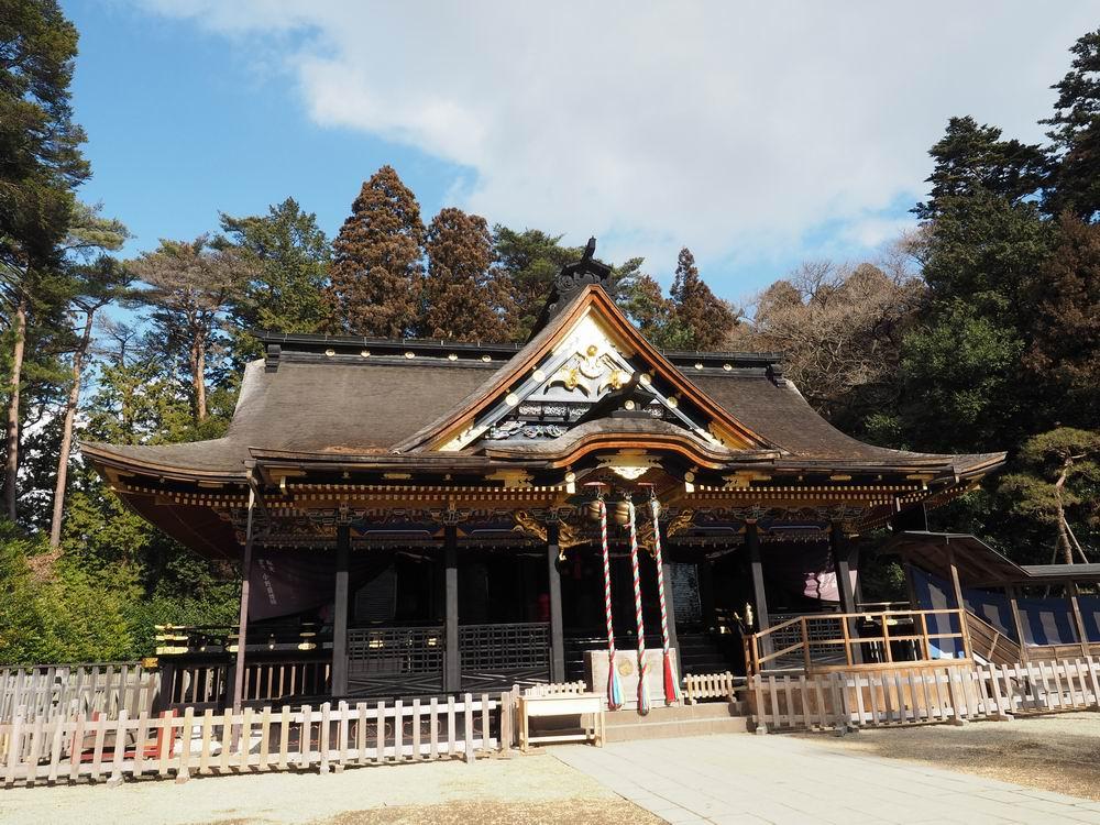 大崎八幡宮の全景写真