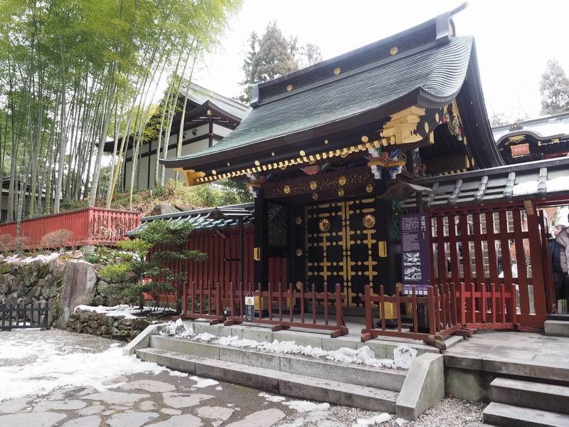 瑞鳳殿の涅槃門の風景