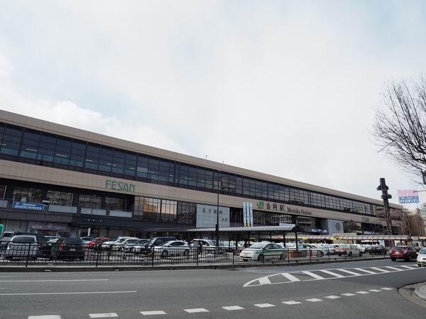 盛岡駅の正面の風景