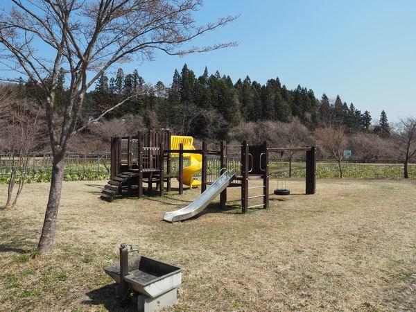 ミズバショウ公園の遊具