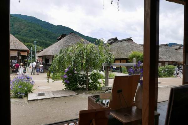 大内宿の風景写真