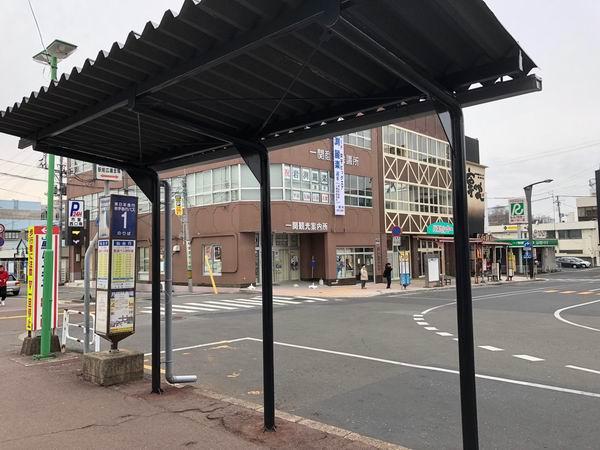 一ノ関駅の1番高速バス乗り場