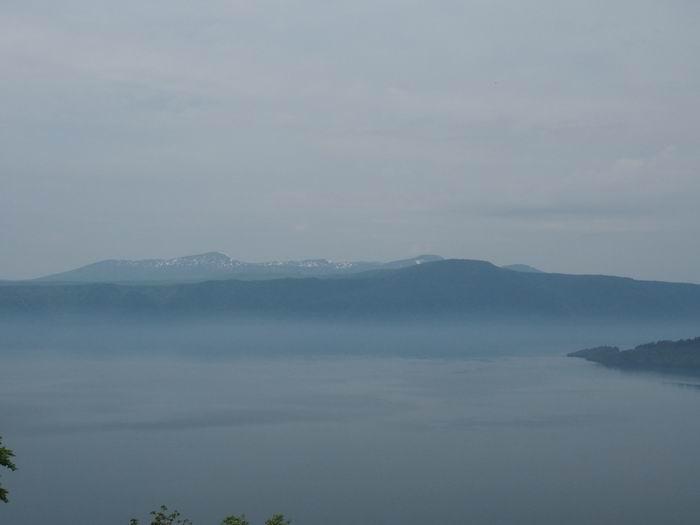 発荷峠展望台の十和田湖の眺望写真7