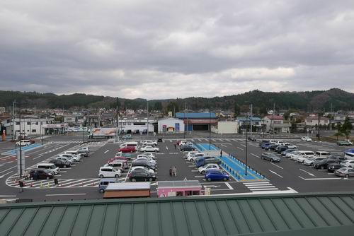 あら伊達な道の駅屋上風景