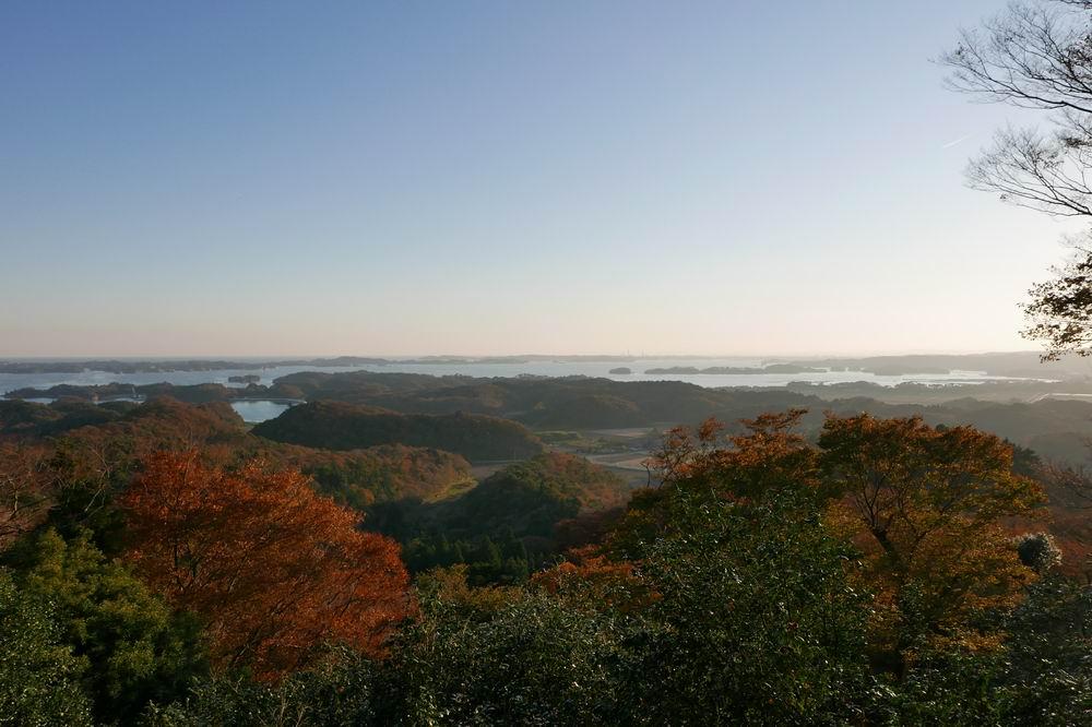 松島四大観麗観(富山)の絶景紅葉写真5