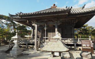 松島五大堂の本堂の正面風景