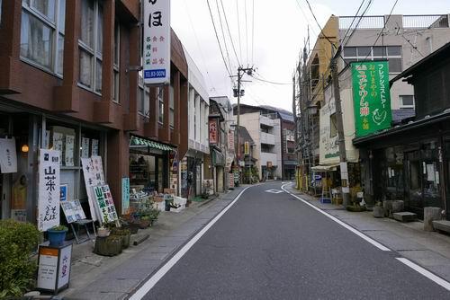 鳴子駅周辺風景