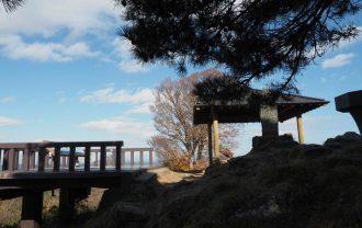 大高森展望台のあずまやの風景写真