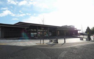 平泉駅の全景写真