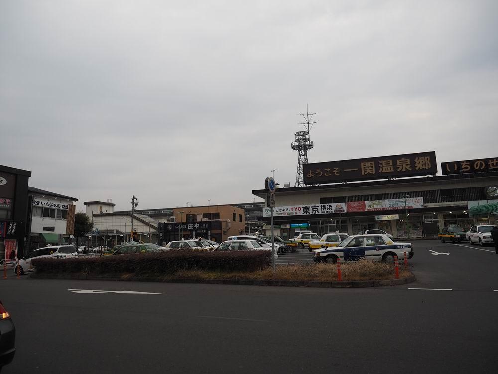 一ノ関駅の全景