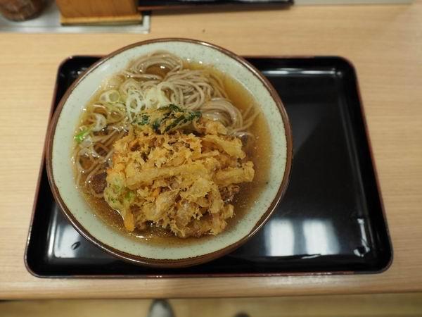 仙台駅の二階の立ち食いソバ