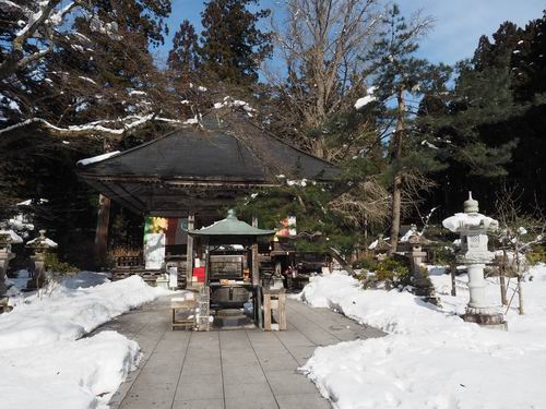 秋保大滝神社の不動尊画像