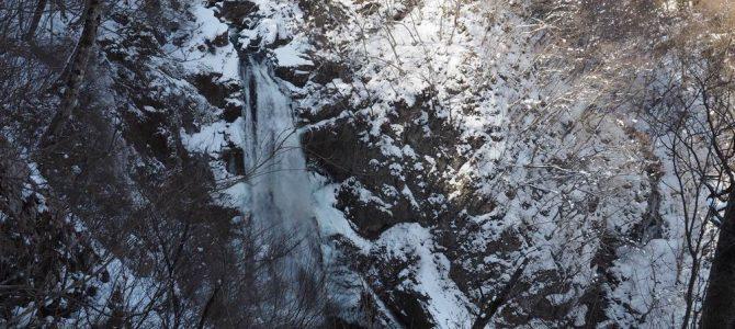 秋保大滝の滝の風景写真