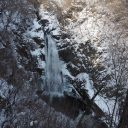 秋保大滝冬の写真画像