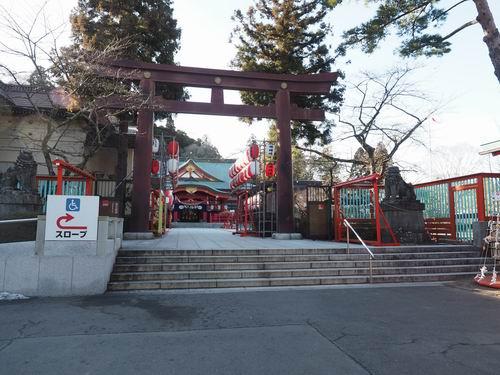 仙台城の護国神社