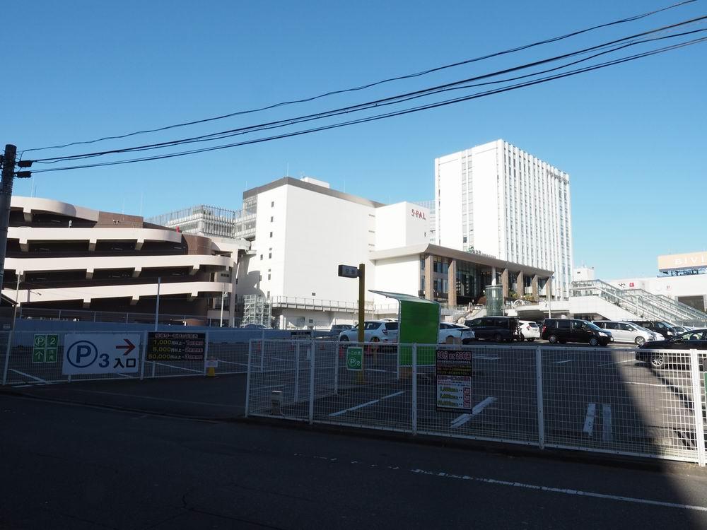仙台駅東口の駐車場ヨドバシの旧敷地