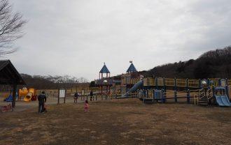加瀬沼公園の遊具の風景3