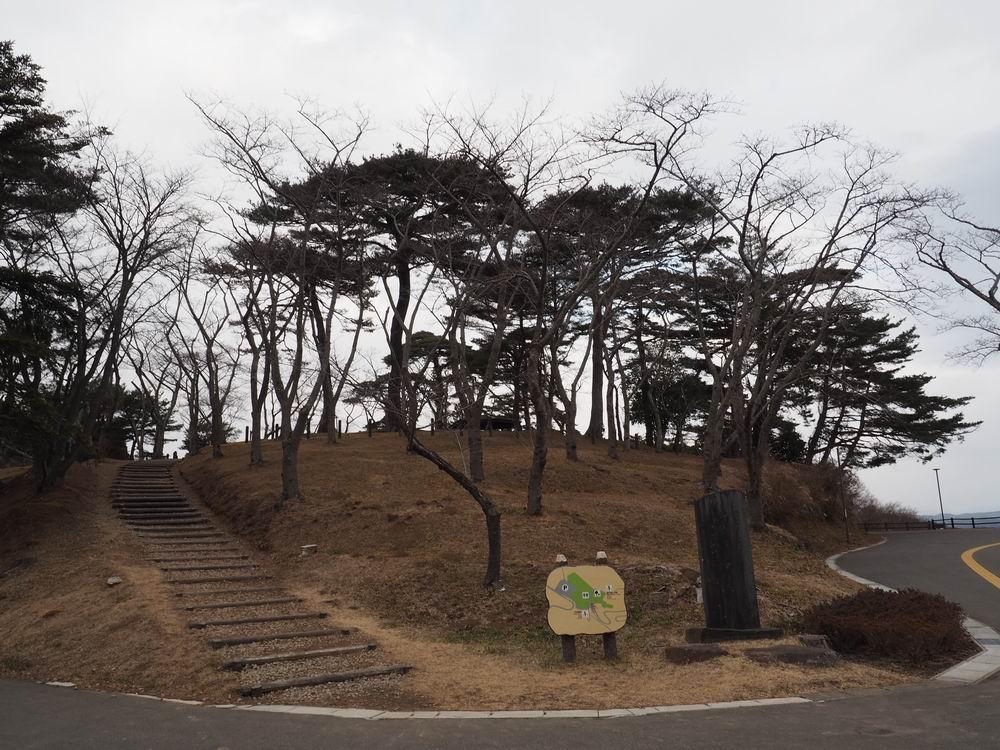 松島西行戻しの松公園の風景