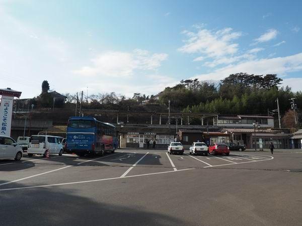 松島海岸駅の全景