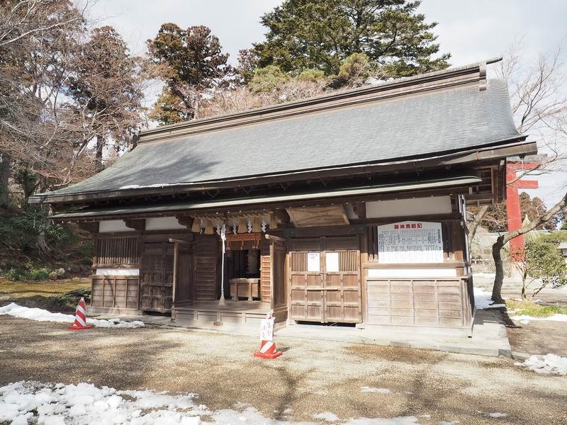 塩釜神社の風景