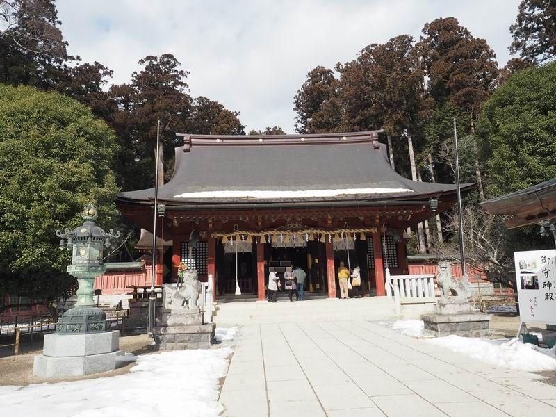 志波彦神社の本殿