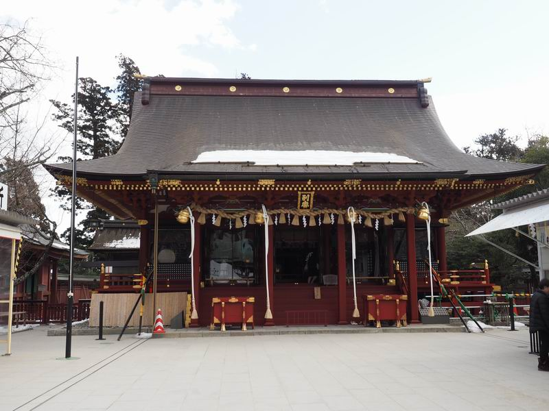 塩釜神社ご祈祷社殿