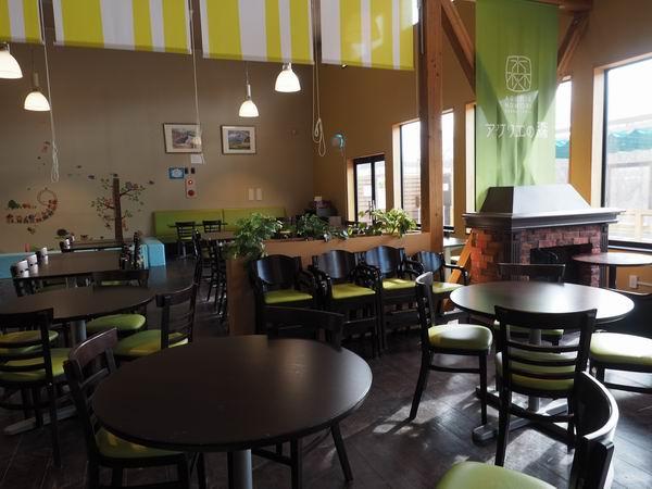 アグリエの森のレストランの風景
