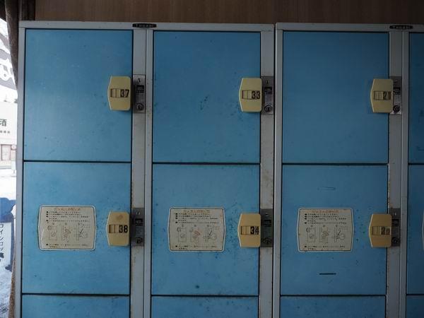 中尊寺のコインロッカーの種類