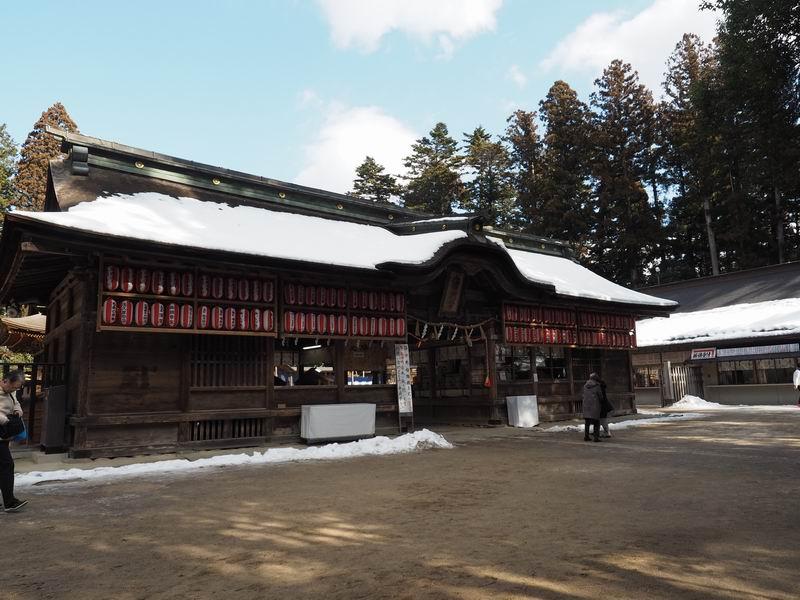 大崎八幡宮の入り口の門