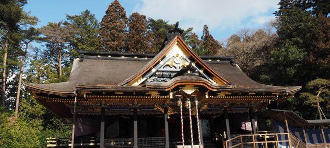 仙台大崎八幡宮の全景