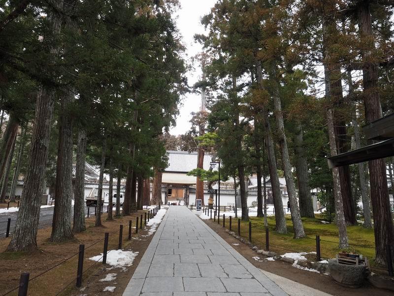 松島瑞巌寺の参道風景