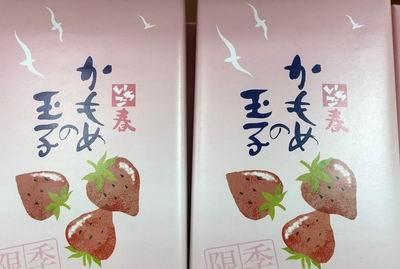 一ノ関駅のお土産のカモメの玉子の画像