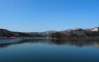 荒砥沢ダムの風景
