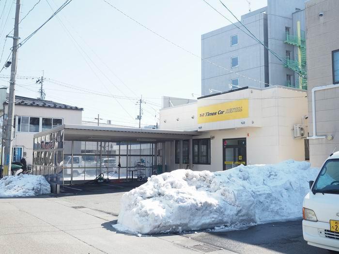 北上市タイムズレンタカー北上店舗の風景写真