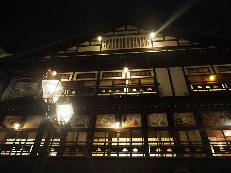 古山閣夜の風景写真