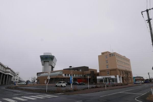 栗駒高原駅のホテルエポカの全景