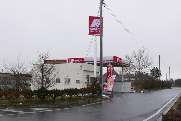 くりこま高原駅のニッポンレンタカーのお店外観
