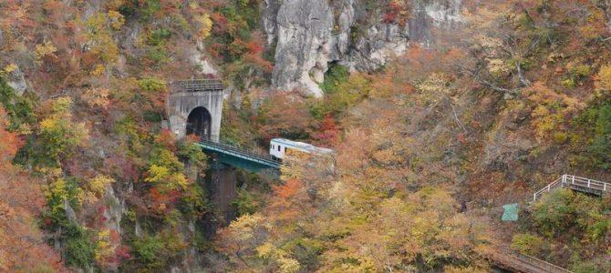 鳴子峡の風景写真