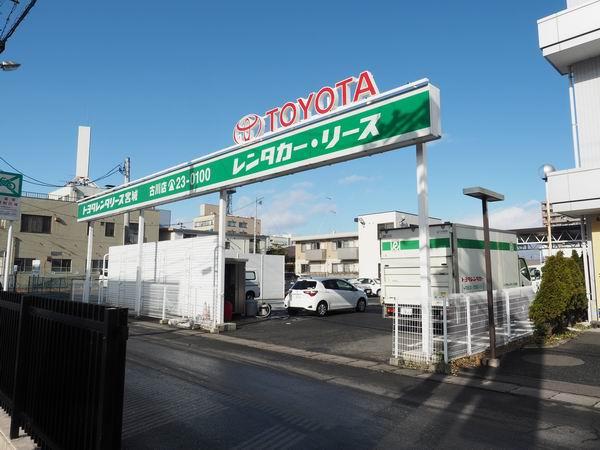 トヨタレンタリーズ古川店外観