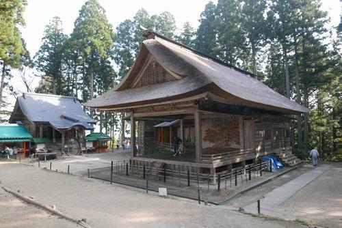 白山神社能楽堂の写真