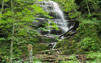 奥入瀬渓流の滝の写真